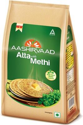 Aashirvaad Atta with Methi (Fenugreek Leaves)