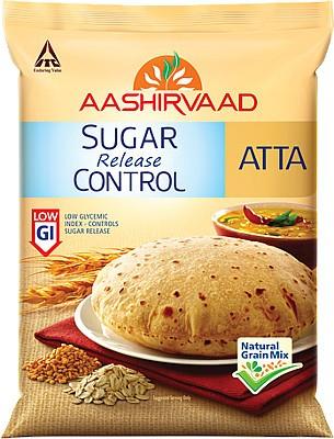 Aashirvaad Sugar Release Control Atta - 2.2 lbs