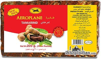 Aeroplane Brand Tamarind Slab (Imli) - 200 gms