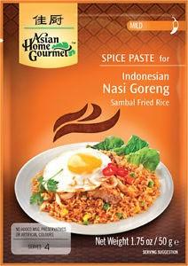 Asian Home Gourmet Indonesian Nasi Goreng (Sambal Fried Rice) Spice Paste