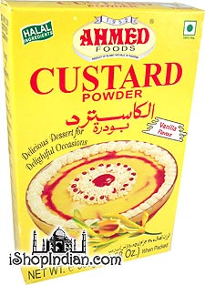 Ahmed Custard Powder - Vanilla Flavor