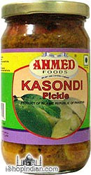 Ahmed Kasondi (Peeled Mango) Pickle