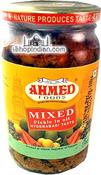 Ahmed Mixed Pickle (Hyderabadi Taste)