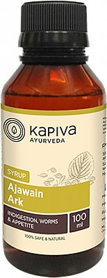 Kapiva Herbals Ajawain Ark Syrup - Supports Healthy Level of Digestion