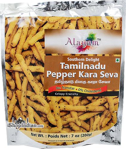 Alayam Tamilnadu Pepper Kara Sev