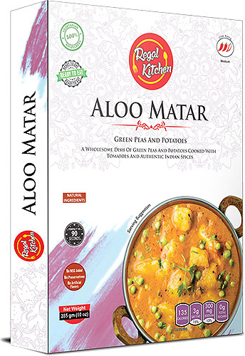 Regal Kitchen Aloo Matar (Ready-to-Eat) - BUY 2 GET 1 FREE!