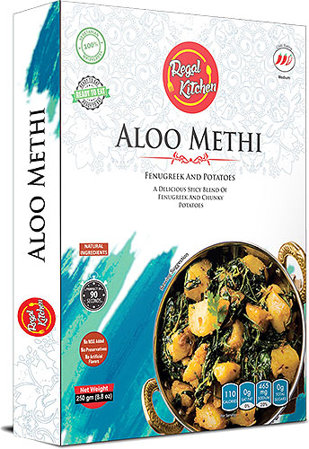 Regal Kitchen Aloo Methi (Ready-to-Eat) - BUY 2 GET 1 FREE!