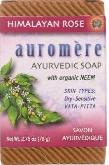 Auromere Ayurvedic Soap - Himalayan Rose