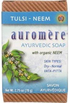 Auromere Ayurvedic Soap - Tulsi Neem