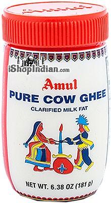 Amul Cow Ghee - 6.38 oz