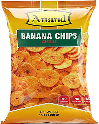 Anand Banana Chips (Chili) - 400 gms