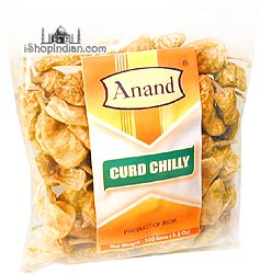 Anand Curd Chilly (Vathals-More Milagai)