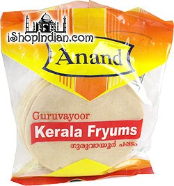 Anand Guruvayoor Kerala Fryums