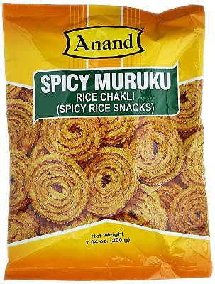 Anand Spicy Muruku (Rice Chakli)