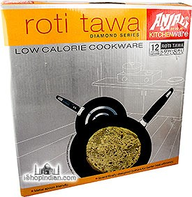 "Anjali Non-Stick Roti Tawa (Diamond Series) - 10.5"""