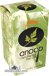 Anoop 100% Herbal Hair Oil (arrests hair fall)