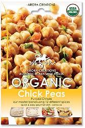 Arora Creations Organic Chick Peas (Punjabi Chhole) Masala
