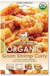 Arora Creations Organic Goan Shrimp and Fish Curry Masala