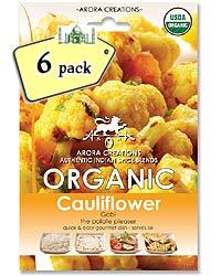 Arora Creations Organic Gobi (cauliflower) Masala - 6 PACK