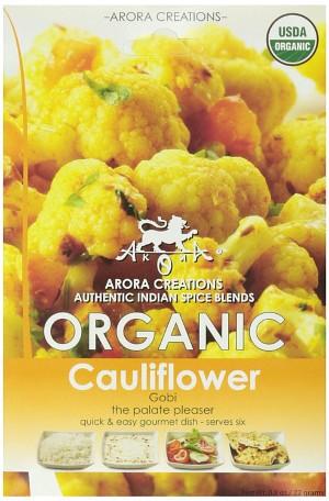 Arora Creations Organic Gobi (cauliflower) Masala