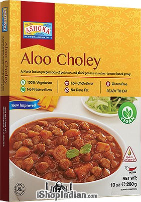 Ashoka Aloo Choley (Ready-to-Eat) - BUY 1 GET 1 FREE!