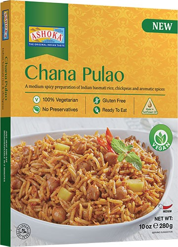 Ashoka Chana Pulao (Vegan) (Ready-to-Eat) - BUY 1 GET 1 FREE!