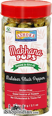 Ashoka Makhana Pops - Malabar Black Pepper