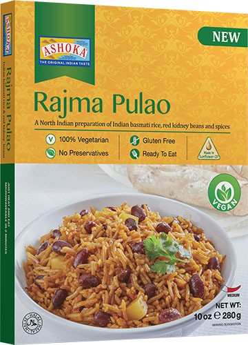Ashoka Rajma Pulao (Vegan) (Ready-to-Eat) - BUY 1 GET 1 FREE!