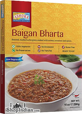 Ashoka Baigan Bharta (Ready-to-Eat) - BUY 1 GET 1 FREE!