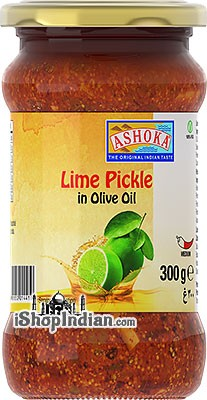 Ashoka Lime Pickle in Olive Oil
