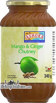 Ashoka Mango & Ginger Chutney :: Chutneys & Sauces ...