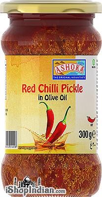 Ashoka Red Chilli Pickle in Olive Oil