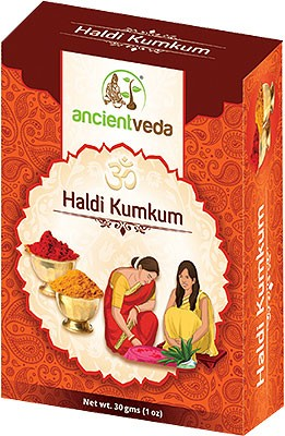 Ancient Veda Haldi Kumkum