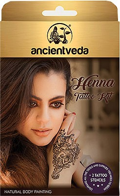 Ancient Veda Henna Tattoo Kit Henna Other Colorants Health