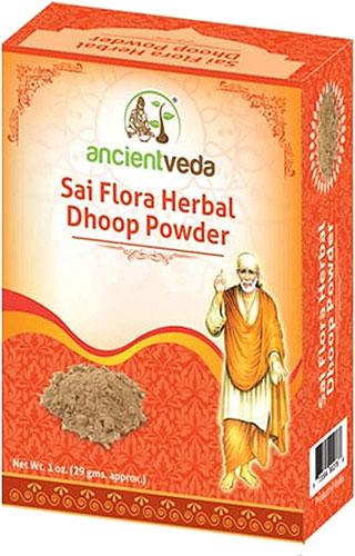 Ancient Veda Sai Flora Herbal Dhoop Powder