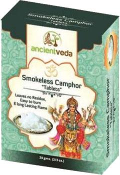 Ancient Veda Smokeless Camphor Tablets