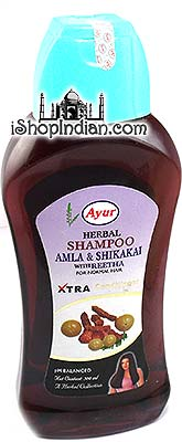 Ayur Herbal Shampoo with Amla, Shikakai & Reetha