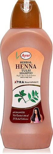 Ayur Herbal Henna Tulsi Shampoo