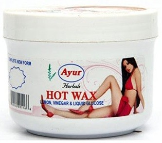 Ayur Herbals Hot Wax (Lemon, Vinegar & Liquid Glucose)