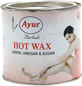 Ayur Herbals Hot Wax (Lemon, Vinegar & Sugar) - 600 gms