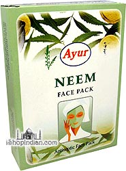 Ayur Herbal Neem Face Pack (cleanser)