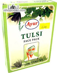 Ayur Tulsi Face Pack (anti-bacterial face pack)