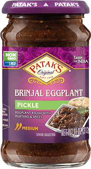 Patak's Brinjal (Eggplant) Pickle / Relish