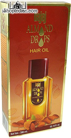 Bajaj Almond Drops Hair Oil (non-sticky with Vitamin E) - 300 ml