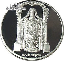 Venkateshwara / Balaji .999 Silver Coin - 1 troy ounce (31 gms)
