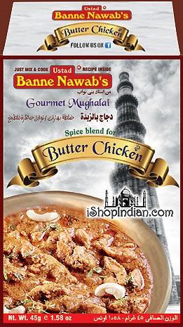 Ustad Banne Nawab's Butter Chicken Masala