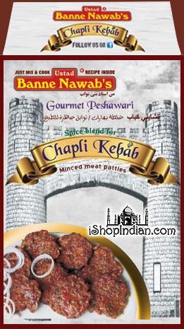 Ustad Banne Nawab's Chapli Kebab Masala