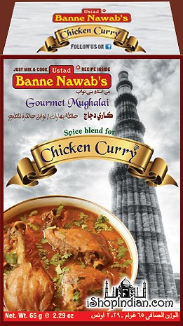 Ustad Banne Nawab's Chicken Curry Masala