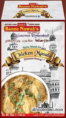 Ustad Banne Nawab's Chicken Masala (Chicken Gravy)