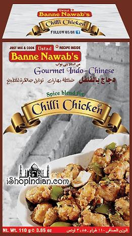 Ustad Banne Nawab's Chilli Chicken Masala